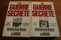 [R02231] La guerre secrète le rempart des mensonges (2 tomes), Anthony Cave Brown