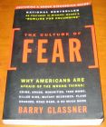 [R07488] The culture of Fear, Barry Glassner