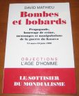 [R07652] Bombes et bobards, David Mathieu