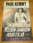 [R08989] Mission Rangoon pour FX 18, Paul Kenny