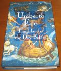 [R10760] The island of the Day Before, Umberto Eco