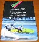[R10958] Ressources humaines, Jean-Marie Peretti