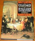 [R11240] The Oxford illustrated history of English literature, Pat Rogers