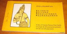 [R11465] Ajanta, Ellora, Daulatab, Aurangabad, a set of twenty picture post cards