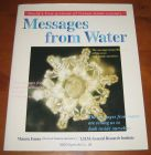 [R11613] Messages from water, Masaru Emoto / I.H.M. General Research Institute