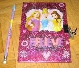 [R11992] carnet secret Princesses Disney avec son crayon