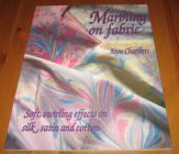 [R12563] Marbling on fabric, Anne Chambers