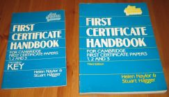 [R12568] First certificate handbook, for Cambridge first certificate papers 1, 2 and 3 +