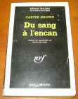 [R13577] Du sang à l encan, Carter Brown