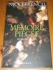 [R14429] Mémoire piégée (memory game), Nicci French