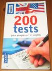 [R16099] 200 tests pour progresser en anglais