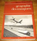 [R17308] Géographie des transports, Maurice Wolkowitsch